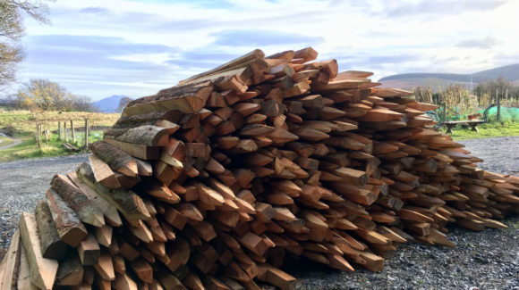 Larch Timber Posts
