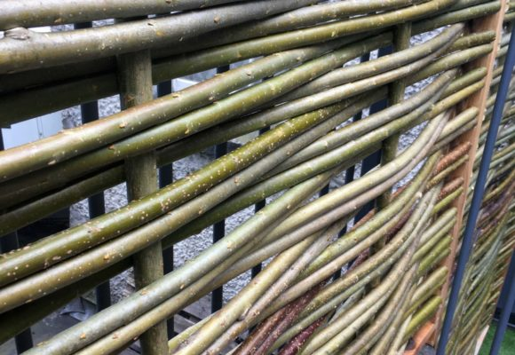 Willow fence weave